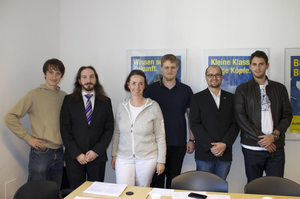 Pressefoto_Liberale Hochschulgruppen NRW wählen neuen Landesvorstand_01.10.2013 - Pressefoto