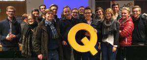 Wahlkampfteam der LHG Münster (Foto: Privat)